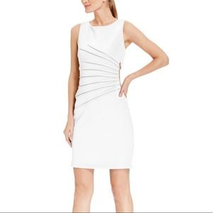 Ivanka Trump Dresses - White and Gold Ivanka Trump Dress